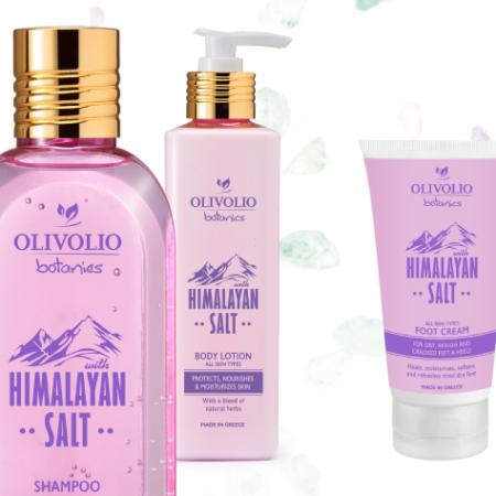 Himaalajan vaaleanpunainen suola Olivolio Botanics