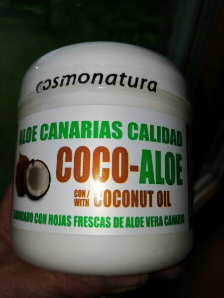 Aloe Vera mahla ja kookosoliga kreem