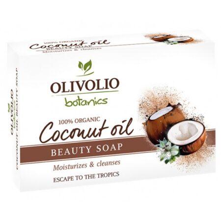 Kookosõliga seep