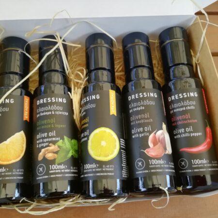 maitsestatud oliivioli